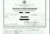 20 Fake Birth Certificate Template ™ In 2020  Fake Birth with regard to Birth Certificate Template Uk