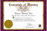 20 Free Ordination Certificate Download ™  Dannybarrantes in Ordination Certificate Template