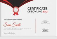 20 Free Printable Bowling Certificates ™  Dannybarrantes inside Bowling Certificate Template