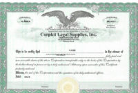 20 Free Stock Certificate Template Download ™ In 2020 intended for Stock Certificate Template Word