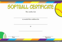 20 Funny Softball Awards Certificates ™ In 2020 With within Softball Certificate Templates Free