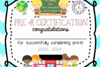 20 Kindergarten Graduation Certificate Free Printable pertaining to Kindergarten Graduation Certificates To Print Free