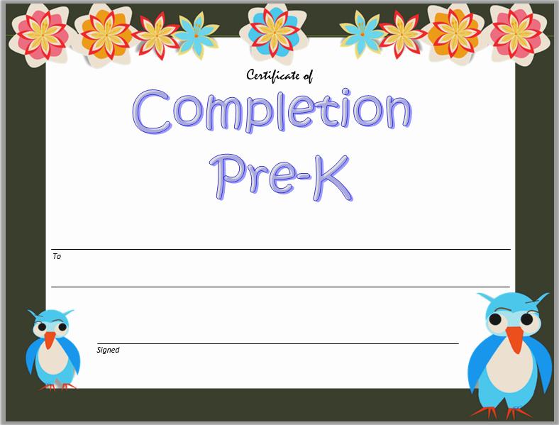 20 Kindergarten Graduation Certificate Free Printable regarding Kindergarten Graduation Certificates To Print Free