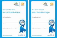 20 Most Valuable Player Certificates ™  Dannybarrantes regarding Mvp Certificate Template