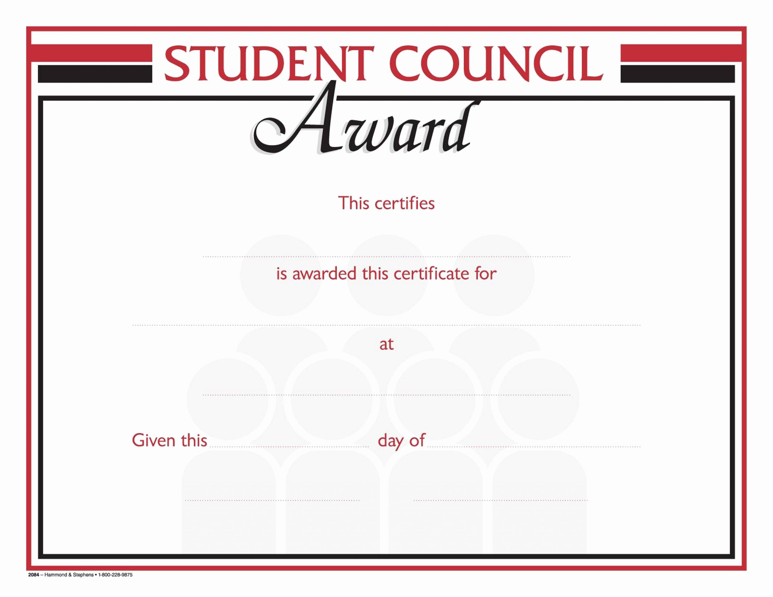 20 Student Council Awards Certificates ™  Dannybarrantes intended for Awesome Student Council Certificate Template