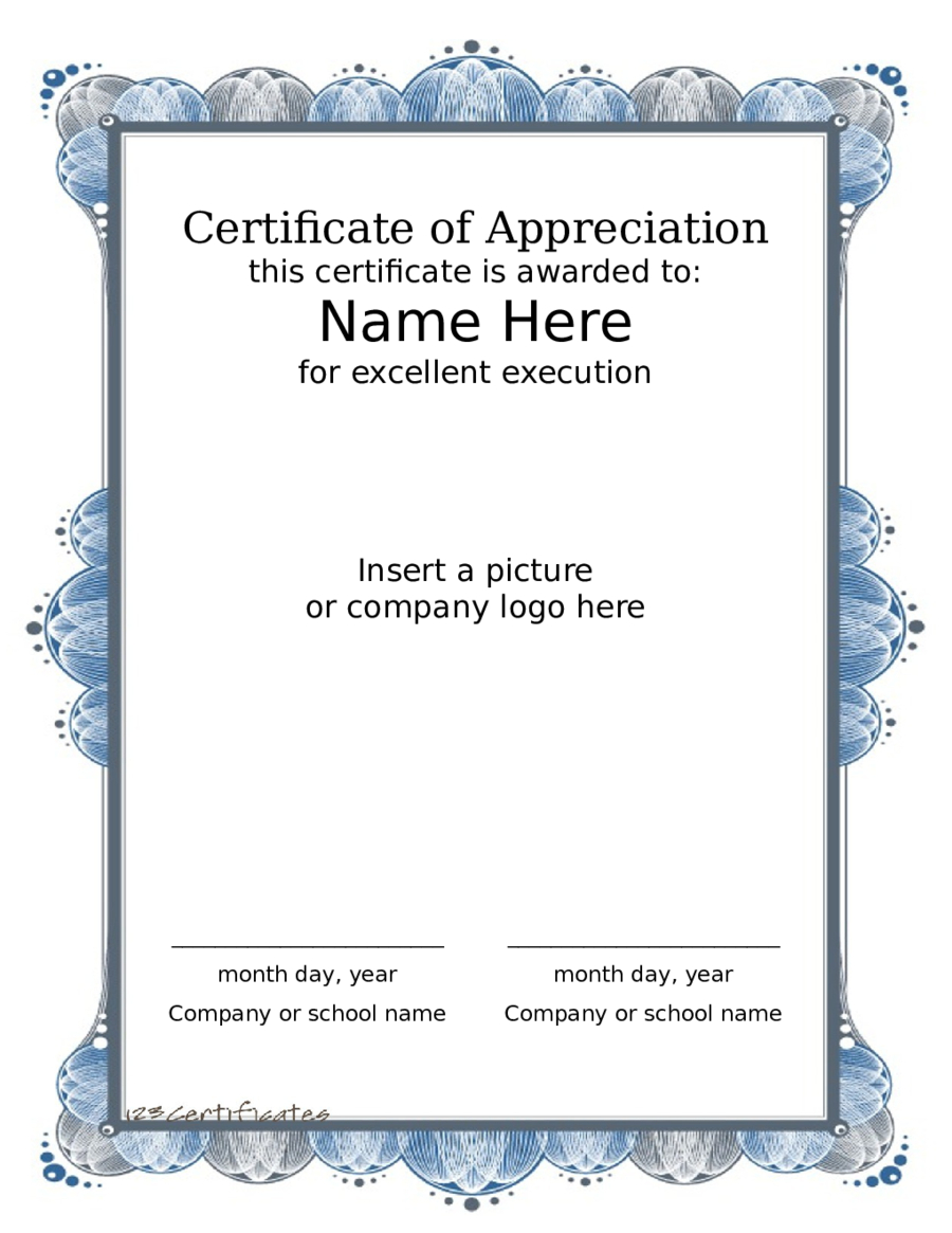 2020 Award Certificate  Fillable Printable Pdf  Forms inside Quality Sample Award Certificates Templates