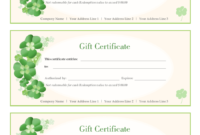 2020 Gift Certificate Form  Fillable Printable Pdf with Free Editable Wedding Gift Certificate Template