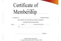 2020 Membership Certificate  Fillable Printable Pdf inside Life Membership Certificate Templates