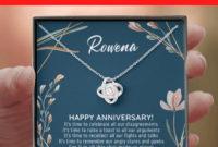 20Th Anniversary Gift For Wife 20 Year Anniversary Gifts regarding Anniversary Gift Certificate