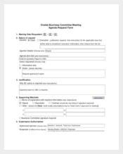 221 Meeting Agenda Templates  Free Sample Example for Weekly One On One Meeting Agenda Template