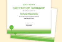 24 Free Club Templates  Word  Excel  Psd  Google Docs regarding Golf Certificate Templates For Word