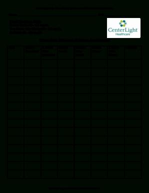 24 Printable Blood Sugar Tracker Forms And Templates regarding Diabetes Testing Log Template