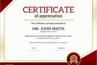 24 Professional Certificate Templates For Ms Word with Printable Employee Anniversary Certificate Template