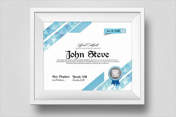 25 Certificate Design Templates  Printable Word Excel in Update Certificates That Use Certificate Templates