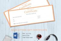 25 Certificate Templates  Free  Premium Templates inside Amazing Free Printable Babysitting Gift Certificate