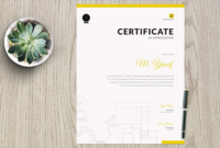 25 Sample Academic Certificate Templates Free Word Formats regarding Academic Achievement Certificate Templates