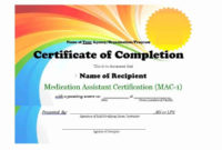 25 Work Completion Certificate Templates  Word Excel Samples for Certificate Of Completion Construction Templates