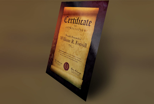 26 Award Certificate Templates  Free Psd Pdf Format inside Quality Scroll Certificate Templates