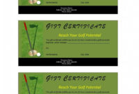 28  Golf Certificate Template  In 2020  Gift pertaining to Golf Certificate Template Free