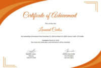 28 Professional Certificate Templates  Doc Pdf  Free regarding Printable Professional Award Certificate Template