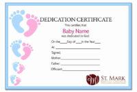 30 Baby Dedication Certificate Template Printable In 2020 for Free Printable Baby Dedication Certificate Templates