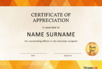 30 Free Certificate Of Appreciation Templates And Letters within Awesome Certificate Of Appreciation Template Doc