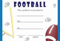 30 Free Soccer Award Certificates Printable In 2020 With pertaining to Soccer Award Certificate Template