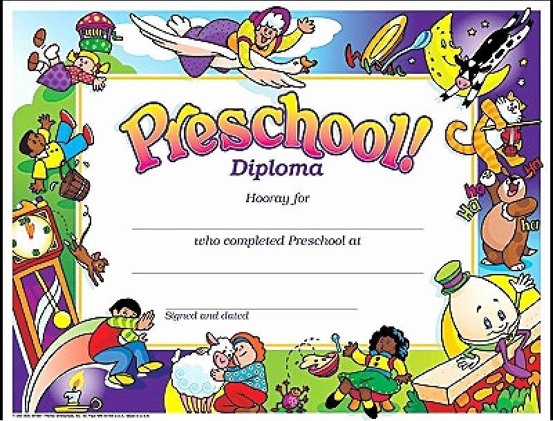 30 Kindergarten Certificate Free Printable In 2020 inside Pre Kindergarten Diplomas Templates Printable Free