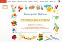 30 Kindergarten Certificates Free Printable In 2020  Free in Graduation Gift Certificate Template Free