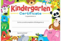 30 Kindergarten Graduation Certificate Free Printable In within Quality Kindergarten Graduation Certificates To Print Free