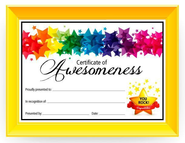 36 Best Pe  Awards  Certificates Images On Pinterest with regard to Best Student Of The Week Certificate Templates