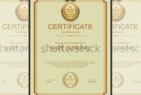 36 Fabulous Achievement Certificate Templates  Word Psd inside Certificate Of Achievement Template Word
