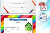 3Rd Printable Kindergarten Graduation Certificate Free In inside Kindergarten Graduation Certificates To Print Free
