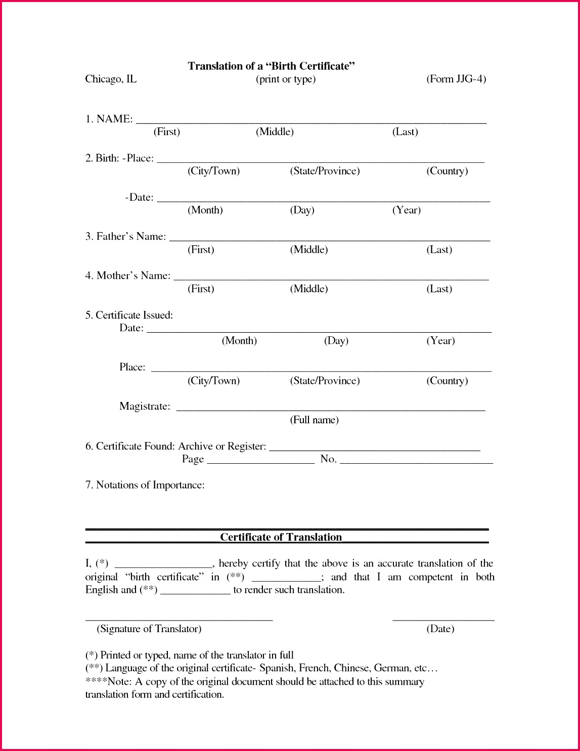 4 Chinese Marriage Certificate Translation Sample 01895 intended for Awesome Marriage Certificate Translation Template