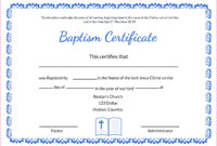4 Free Printable Baptism Certificates Templates 37144 in Baptism Certificate Template Download