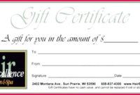4 Martial Arts Certificates Templates 05466  Fabtemplatez for Automotive Gift Certificate Template