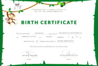4 Template For Puppy Birth Certificates 53685  Fabtemplatez with Awesome Pet Birth Certificate Template