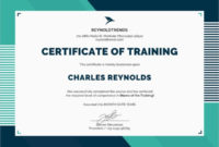 40 Word Certificate Templates  Free  Premium Templates throughout Template For Training Certificate