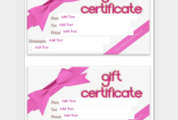 44 Free Printable Gift Certificate Templates For Word  Pdf inside Amazing Donation Certificate Template