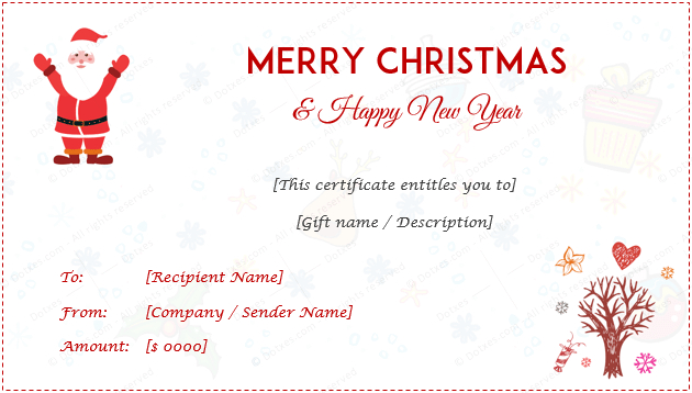 44 Free Printable Gift Certificate Templates For Word  Pdf intended for Amazing Dinner Certificate Template Free
