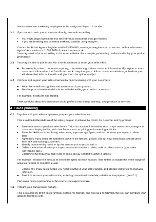 47 Sample Monthly Sales Plan Templates In Pdf  Ms Word in Quality Weekly Operations Meeting Agenda Template