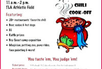 5 Chili Cook Off Certificate Free Templates 77846 in Chili Cook Off Certificate Templates