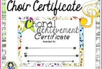 5 Free Spelling Bee Certificate Template 20777  Fabtemplatez in Amazing Choir Certificate Template