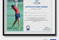 5 Golf Certificates  Psd  Word Designs  Design Trends with Quality Golf Gift Certificate Template