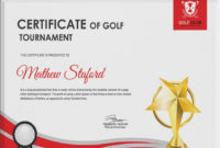 5 Golf Certificates  Psd  Word Designs  Design Trends with regard to Golf Certificate Template Free