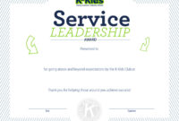 5 Leadership Certificate Templates Free Download with regard to Leadership Award Certificate Template