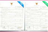 5 Notarized Translation Of Birth Certificate Sample 16715 in Amazing Mexican Birth Certificate Translation Template