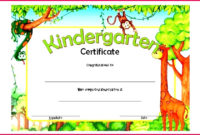 5 Preschool Certificate Of Completion Template 76796 with Free Kindergarten Completion Certificate Templates