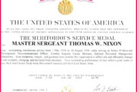 5 Us Army Certificate Of Appreciation Template 09430 with Free Army Certificate Of Achievement Template