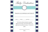 50 Free Baby Dedication Certificate Templates  Printable inside Awesome Baby Dedication Certificate Template